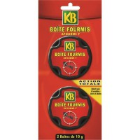 KB Antifourmis - 2 boîtes appât de 10 g