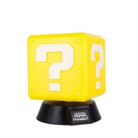 Lampe Veilleuse Super Mario Bros : Bloc Question - PALADONE