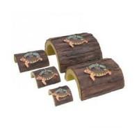 ZOOMED Abri imitation bois - XL - Pour tortue, reptile et amphibien