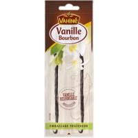 VAHINE Gousse de vanille - 2 pieces