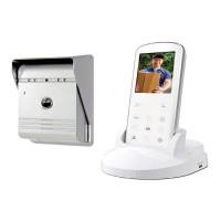 """SMARTWARES Interphone vidéo sans fil VD36W 2,4"""" avec combiné portable"""