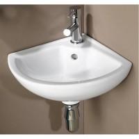 Lave mains en porcelaine Pivoine