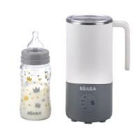 BEABA Milk Prep : Préparateur boisson - Gris/blanc