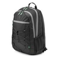 """HP Sac a dos pour ordinateur portable Active Backpack - 15.6"""" - Noir et Vert menthe"""