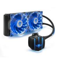 SPIRIT OF GAMER LIQUIDFORCE 240 - Kit Watercooling 2 x 120 mm LED
