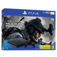 PS4 Slim 1To Noire + Call of Duty Modern Warfare