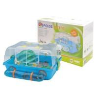 SAVIC Cage hamster Spelos multicolore 42,5 x 38 x 24cm