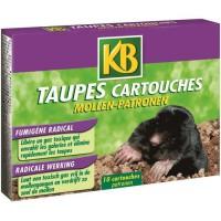 KB Lot de 10 cartouches Taupe