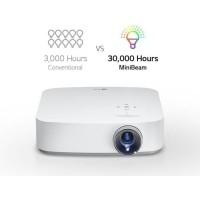 LG PF50KS Vidéoprojecteur LED DLP Full HD Léger et Compact - 600 Lumens -2 entrées HDMI, USB - Batterie intégrée