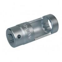 AUTOBEST Douille Injection Diesel Multi-Pans, Carré 1/2 , 22mm Long 78mm