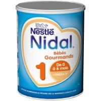 NIDAL 1 Bébés Gourmands Lait en poudre 1er age 800G