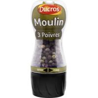 DUCROS Moulin 3 Poivres - 34 g