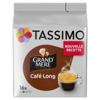 TASSIMO Grand'Mere Café Long - 16 dosettes - 107 g