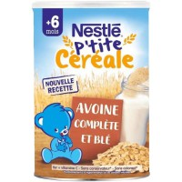 NESTLE P'tite Céréale Avoine complete et Blé 400G