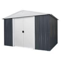 YARDMASTER Abri de jardin en métal 7,18 m² - Gris anthracite