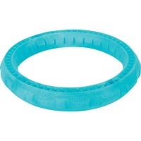 ZOLUX Jouet flottant en forme d'anneau - 17 x 17 x 3 cm - Bleu - Pour chien