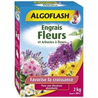 ALGOFLASH Engrais Fleurs et Arbustes a fleurs - 2kg