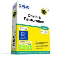 EBP Devis & Facturation Classic - Derniere version 2020 - Ntés Légales incluses