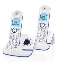 Alcatel F390 Duo Téléphone Sans Fil Répondeur Blanc Bleu