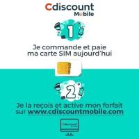 Carte SIM Cdiscount Mobile