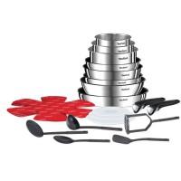 TEFAL Ingenio Emotion Batterie de cuisine 22 pieces Inox Tous feux dont induction L925SM14