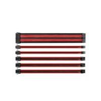 Thermaltake Kit de câbles d'alimentation avec manchons Combo Pack TtMod - Rouge / Noir