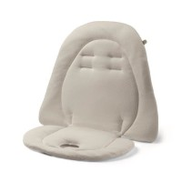 PEG PEREGO Baby Cushion Coussin réducteur matelassé pour chaise haute et poussette - Blanc