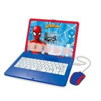 LEXIBOOK - Spider-man - Ordinateur portable éducatif bilingue (EN/FR) pour enfant avec 120 activités