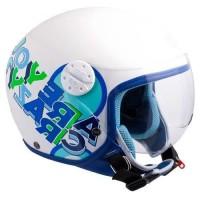 CGM Casque Jet Kid 205G Sport Bleu
