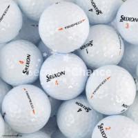 SECOND CHANCE Lot de 6 Balles de Golf Srixon Tri Speed - Blanc