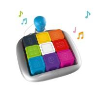 SMOBY SMART Cubes Malins - 3 Modes de Jeu - Apprentissage Couleur / Chiffres