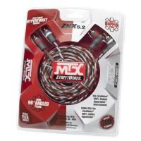 MTX Câble RCA StreetWires ZNX5.2 5 m Symétrique 100% Cuivre ZeroNoise