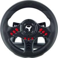 Subsonic - Volant Racing Wheel Universal, palettes, de vitesses et pédalier pour Playstation 4 ? PS4 Slim/Pro, Xbox One,PC, PS3