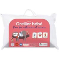 P'TIT ALBATROS Oreiller 100% coton - Bébé mixte - 40 x 60 cm