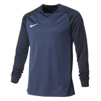 NIKE Maillot Manches longues Trophy III - Homme - Bleu marine
