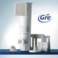GRE Skimmer motorisé a cartouche - 3,8 m³ / h