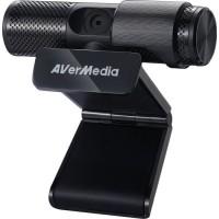 AVerMedia Live Streamer CAM 313 (PW313) - Webcam pour YouTubers et Streamers - Enregistrez en Full HD 1080p30 / Plug and Play /