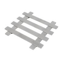 EQUINOX Dessous de plat 18x18 cm gris