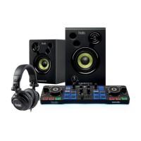 HERCULES DJSTARTER KIT - Table mixage Starter kit - Noir