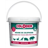 SANITERPEN Résine de colophane en poudre Coloder - Pour volaille et gibier - Seau de 3,5 kg