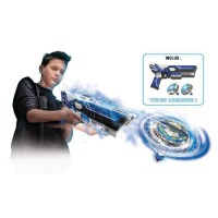 SPINNER MAD by Silverlit Un mega blaster double tir + 2 toupies LED - 86311