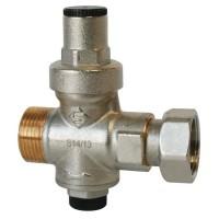 SOMATHERM Réducteur de pression a piston - Chauffe-eau - Mâle 20/27 - Ecrou 20/27