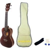 SUZUKI Pack Ukulélé Concerto + Housse + accessoires