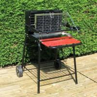 Barbecue Raymond - Cuisson verticale au charbon de bois