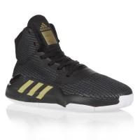 ADIDAS Chaussures de basket Pro Bounce 2019 - Enfant - Noir - Taille 38.6666666666667