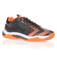 HUMMEL Chaussures de Handball Dual Plate Power VP28 - Homme - Noir et Orange - Taille 41