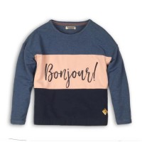 DJ DUTCHJEANS Pull Marine/Rose Fille - Taille 10 ans
