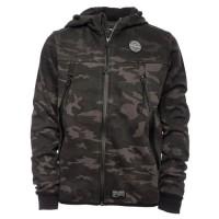 REDSKINS-KIRKTON-SWEAT CAPUCHE-black camouflage-GARCON - Taille 10 ans