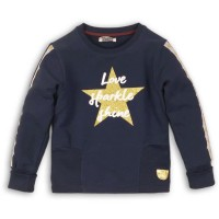 DJ DUTCHJEANS Pull a Etoiles Marine Fille - Taille 10 ans