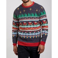 Pull Noel Homme jacquard mul L - Taille L